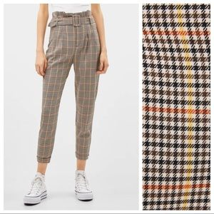 NWT. Paperbag pants/trousers. Size 2, 6.